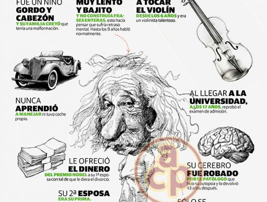 Datos que no sabías de Albert Einstein